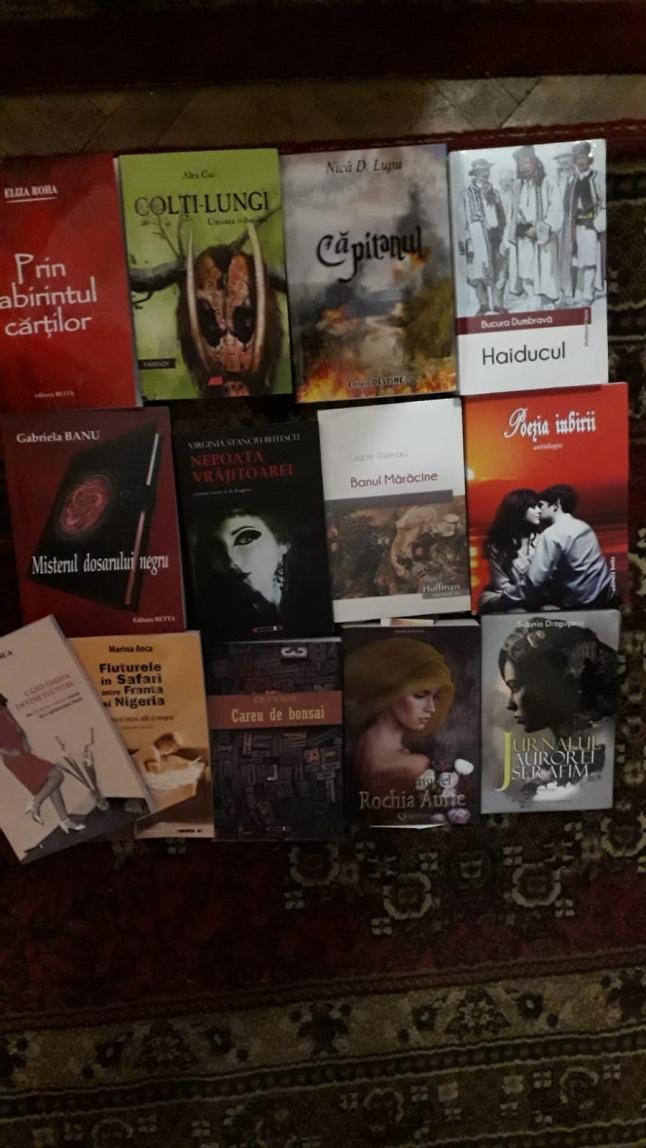 Book haul romanesti