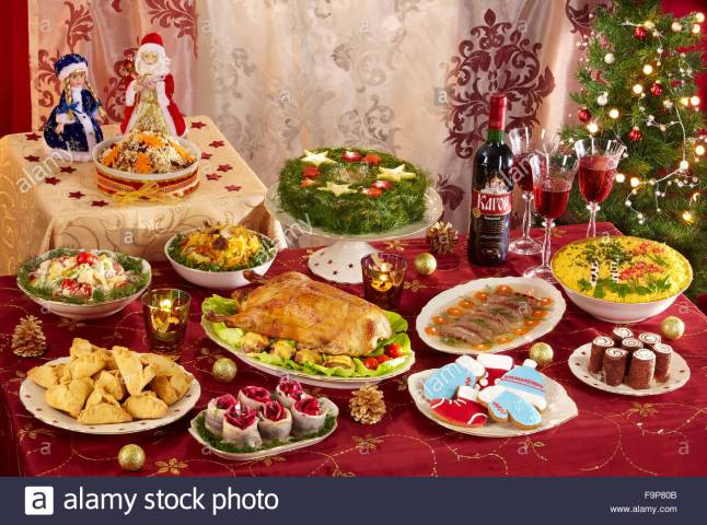 russian-christmas-menu-F9P80B.jpg