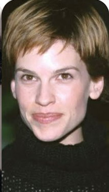 Marina at 40 Hilary Swank as Amelia Earhart
